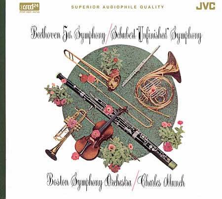 Beethoven - Schubert / Symphonie N°5 - Symphonie N°8 [XRCD24]