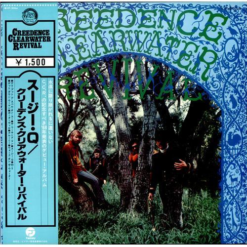 Creedence Clearwater Revival - Suzie Q [Japan Vinyl LP] Used