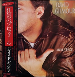 David Gilmour - About Face [Japan Vinyl LP] Used